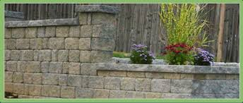 landscape products pavers stone retaining wall mulch granite
