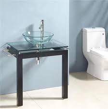 Glass Bathroom Sinks And Vanities Delightful Bathroom Bowls Basins Sinks Fancy Design Glass Bathroom