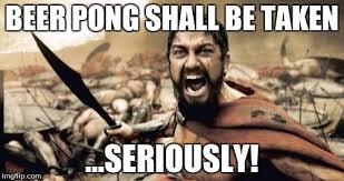 Beer Bong Meme - beer pong trolling rule official beer pong rules 3 chuggie