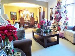 Living Room Decorating Ideas Youtube Decorating For Christmas Christmas Living Room Tour Ideas Youtube