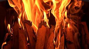 fire logs burning fireplace stock video footage videoblocks