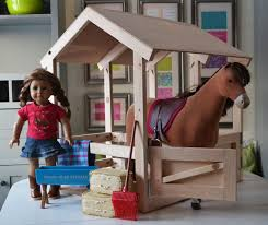 Wood Plans For Toy Barn by Ana White Horse Stables For American Or 18