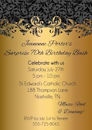 design exquisite 60th birthday party invitations free templates