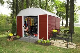 arrow red barn 10x14 metal shed rh1014 c1 free shipping