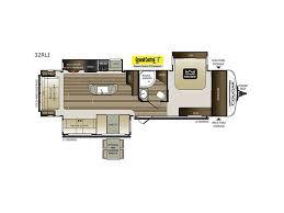 Cougar Trailer Floor Plans 2018 Keystone Rv Cougar Half Ton Series 32rli Georgetown Tx