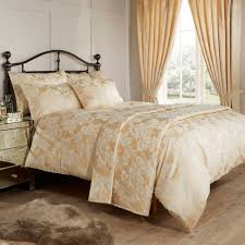 vantona amalfi gold jacquard bedding homewares