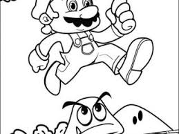 super mario coloring pages print super mario bros coloring