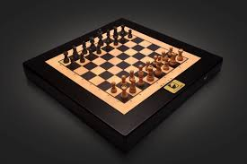 the pieces move by themselves in this crazy high tech chess board