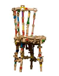 Wooden Armchair Designs Creative Chairs From Odd Materials