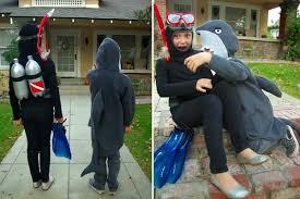 Carrying Halloween Costume Shark Scuba Diver Halloween Costumes Oleander Palm