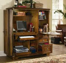 Armoire Desks Home Office Compact Home Office In Cabinet Computer Armoire Desk Inside