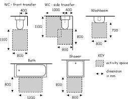 Designs Beautiful Standard Bathtub Size by Bath U0026 Shower Wondrous Wc Side Transfer And Wash Basin Plus