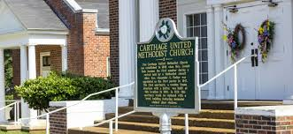 when was the first house built carthage united methodist church home