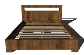 Platform Queen Or King Bed Woodworking Plans Patterns by Queen Wood Bed Frame Plans Frame Decorations