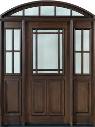 Solid Mahogany Exterior Doors Front Door Design Single With 2 Sidelites W Transom Solid
