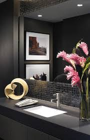 Ideas For Small Powder Room - best 25 modern powder rooms ideas on pinterest modern marble