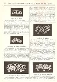 new and attractive designs in tatting