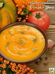 healthy vegetarian pumpkin soup this cooks on a diet