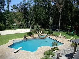 Backyards With Pools by Swimming Pool Interesting Outdoor Living Space Decoration Using