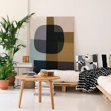 Black Sofa Pillows by Marimekko Ruutu Unikko Black Throw Pillow Marimekko Sale