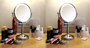 zadro lighted makeup mirror zadro 10x magnifying lighted makeup mirror swing arm wall mount best