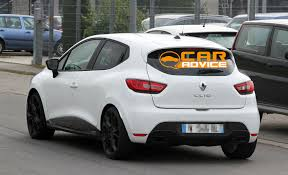 renault car models renault clio rs baby hatch uncovered photos 1 of 12