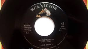 losers weepers floyd cramer 1962 youtube
