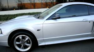 03 mustang gt rims 2003 ford mustang gt 4 6 v8 silver chion auto 510 2143195
