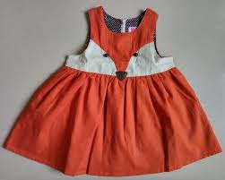 summer dress sweet toddler baby kids fox dress casual fashion