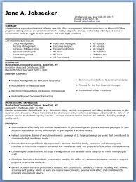 Resume Templates Microsoft Word 2003 Examples Of Executive Assistant Resumes Resume Example And Free