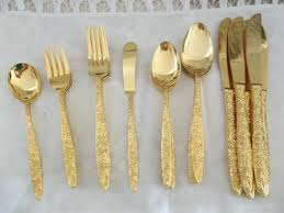 Unique Silverware by Gold Flatware Set A Stylish Aspect Of Dining Thediapercake Home