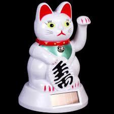 9 best lucky maneki neko waving cat ornaments at rockedout images