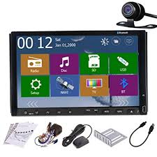 black friday 2016 dvd player amazon amazon com 7 inch car gps radio player with backup camera