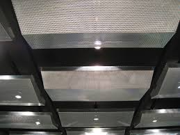 perforated ceiling panels caliper studio