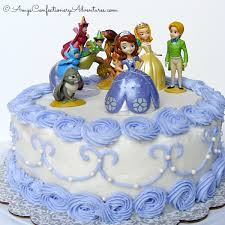 sofia the first birthday cake ideas 4015