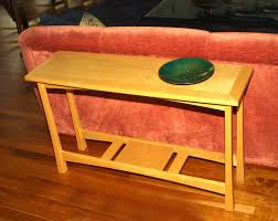Console Entry Table Console Entry Tables Roger Combs Woodworker