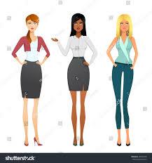 Beautiful Office Business Beautiful Office Stock Vector 496644478