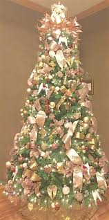 gold christmas pink tree decorations delightful shape gold gold christmas