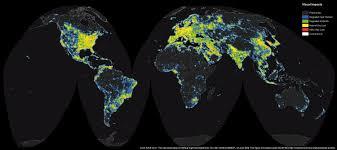 Dark Sky Map Apod 2016 June 30 The New World Atlas Of Artificial Sky Brightness
