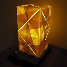 Paper Lighting Fixtures Paper Light Fixtures This Origami Light Fixture Is Made Of