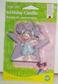 sesame cake toppers blue and pink inside to abby cadabby cake birthday party