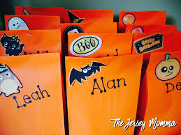 goodie bags for halloween the jersey momma quick and easy teacher appreciation gifts