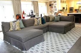 White Slipcovered Sofa by White Slipcovered Sectional U2013 Vupt Me