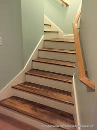 Laminate Flooring For Stairs New Walnut Stained Stairs For The New Year Hometalk
