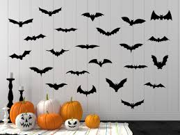halloween decal halloween halloween wall decal bat decal