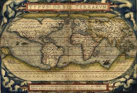 antique map world antique map of the world by abraham ortelius 1564 painting by