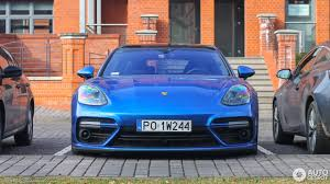 blue porsche panamera 2017 porsche 971 panamera turbo 16 march 2017 autogespot