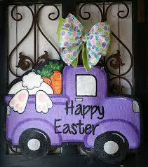 Diy Burlap Easter Decorations by Best 25 Burlap Door Hangings Ideas On Pinterest Burlap Door