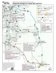 Dart Train Map King County Council To Consider Changing Dart Routes 907 And 915