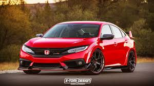 Honda Civic Type R Horsepower First Look At 2017 Civic Type R Hatchback Prototype Spy Pics